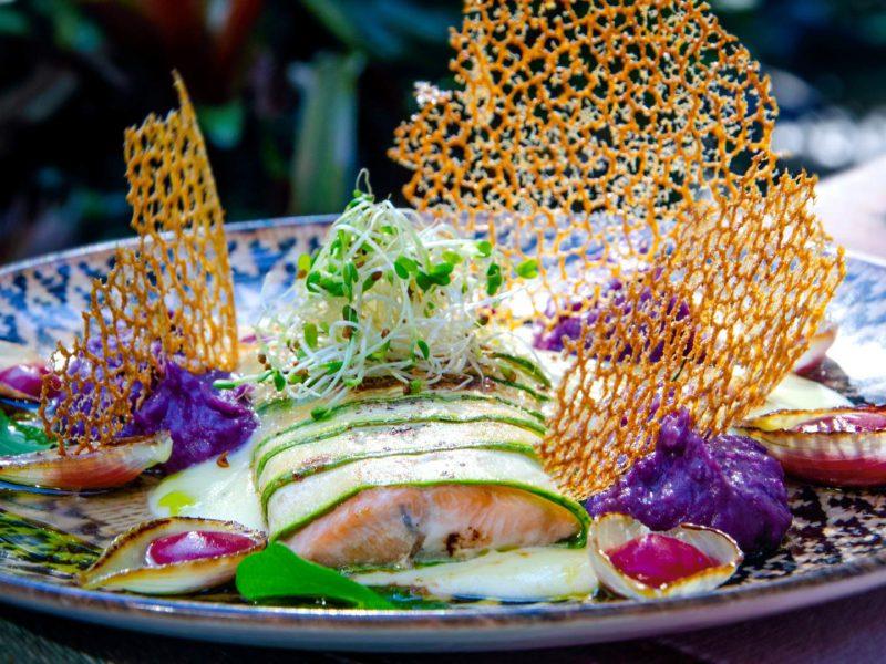 Truta Zucchine no restaurante Zucchine em Visconde de Mauá